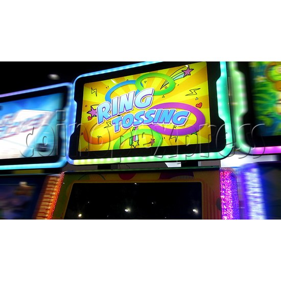 Ring Tossing Ticket Redemption Arcade Machine - header