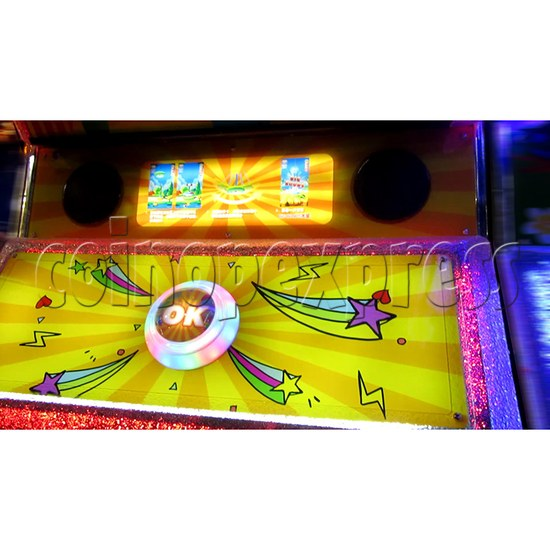 Ring Tossing Ticket Redemption Arcade Machine - control panel