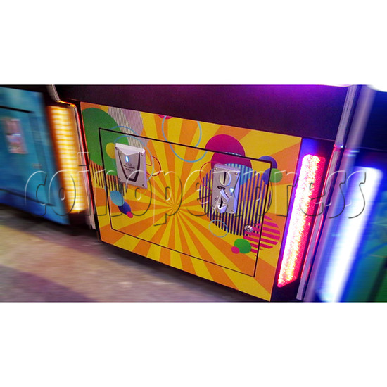 Ring Tossing Ticket Redemption Arcade Machine - front door