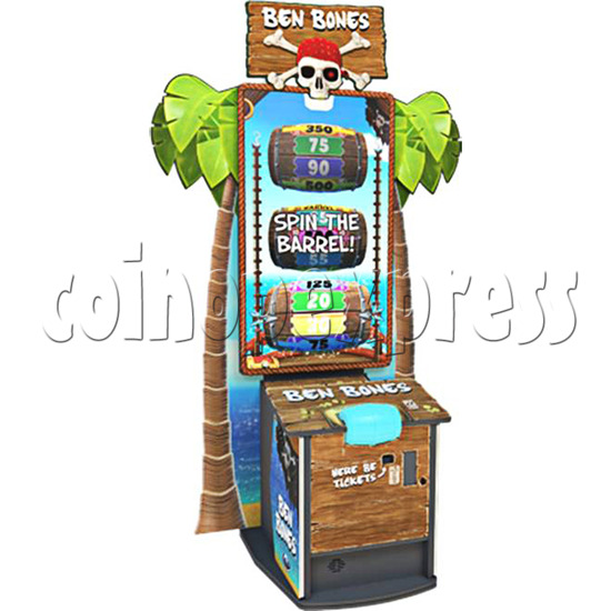 Ben Bones XL 65 inch Ticket Redemption Machine