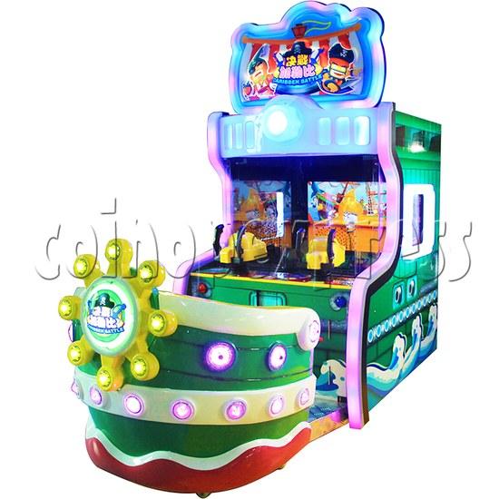Caribbean Battle Ball Shooter Redemption Arcade Machine - angle view