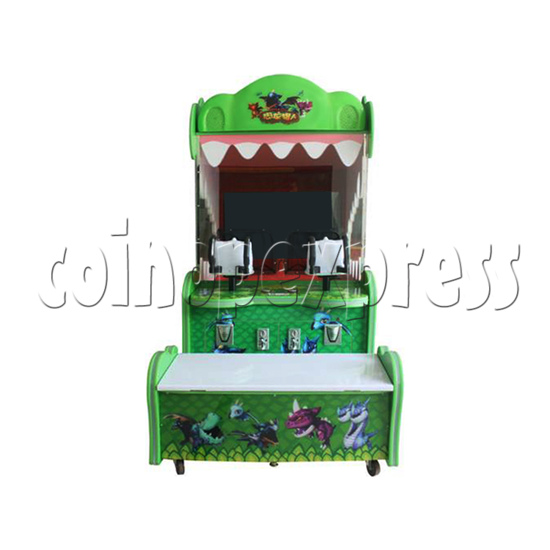 Dragon Hunter Ball Shooting Redemption Game machine - front view
