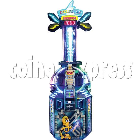Cyclotron Skill Test Ticket Redemption Arcade machine - front view