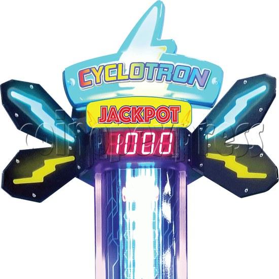 Cyclotron Skill Test Ticket Redemption Arcade machine - tower