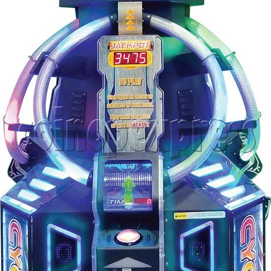 Cyclotron Skill Test Ticket Redemption Arcade machine - playfield
