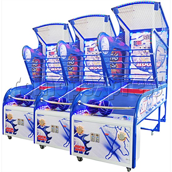 Shooting Hoops 5 Basketball Machine - right view