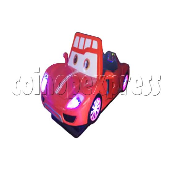 DuDu Car Kiddie Rides - angle view