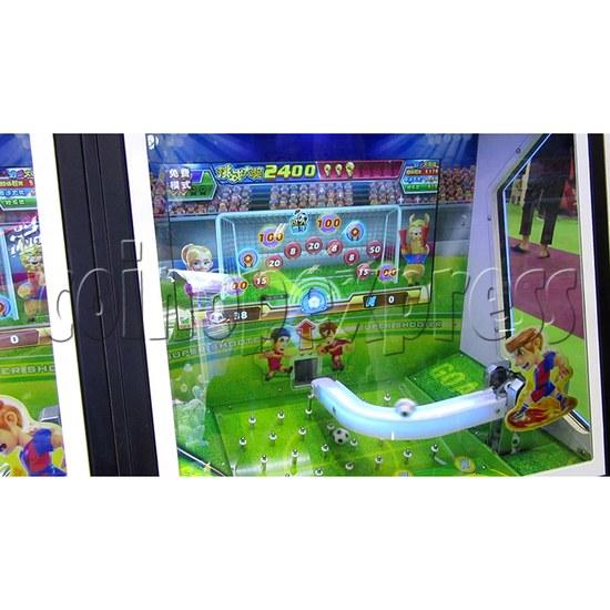 Kick Mania Soccer Game Ticket Redemption Arcade Machine - playfield