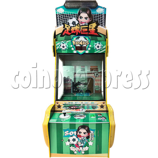 Soccer Super Star Ticket Redemption Arcade Machine - front view