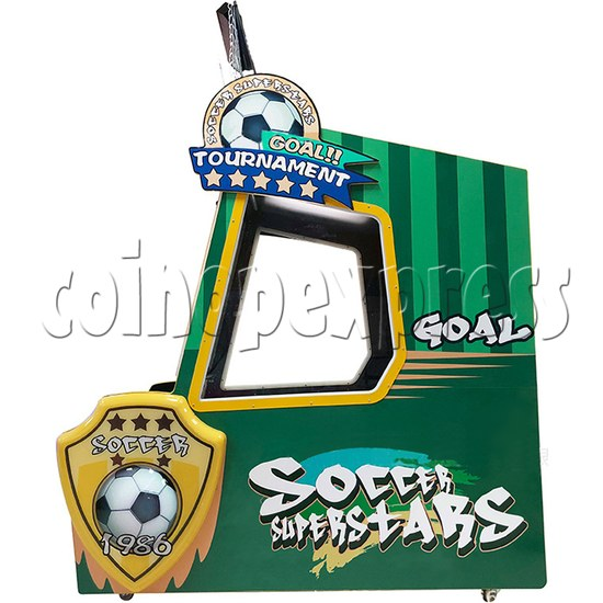 Soccer Super Star Ticket Redemption Arcade Machine - right view