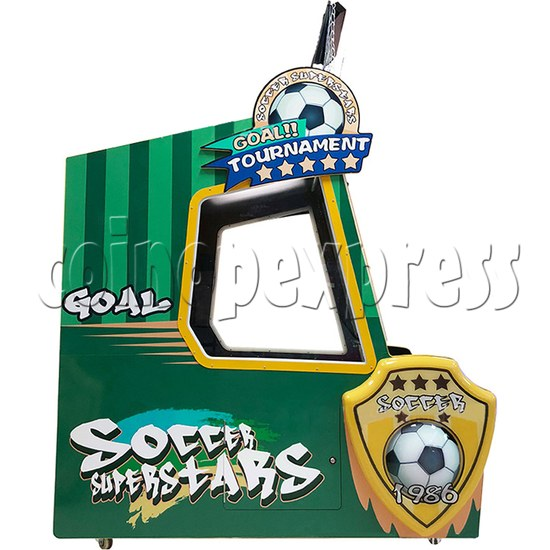 Soccer Super Star Ticket Redemption Arcade Machine - left view