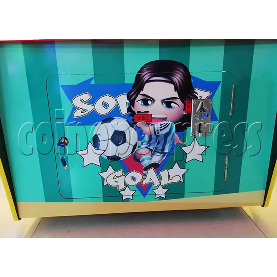 Soccer Super Star Ticket Redemption Arcade Machine - front door