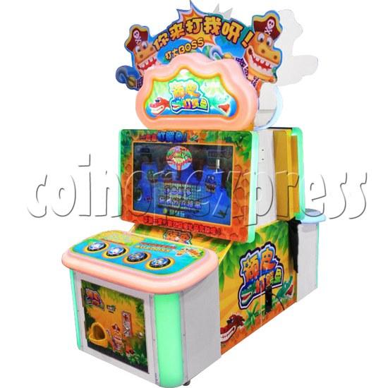 Naughty Crocodile Hummer Game Machine - right view