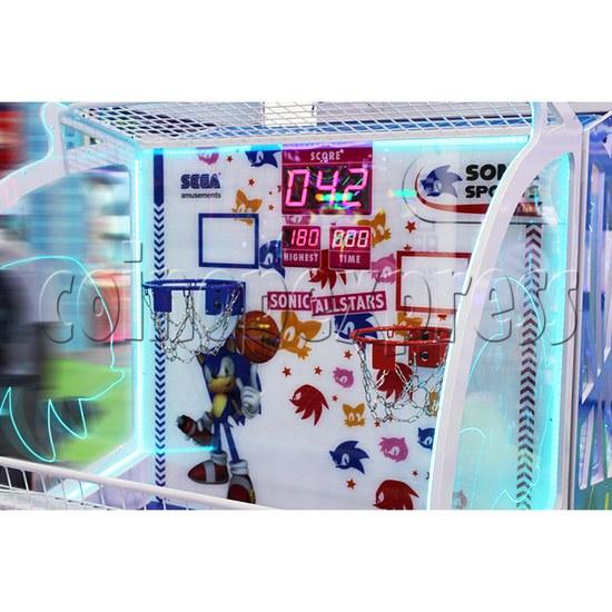 Sharpshooter Gemini Basketball Ticket Redemption Arcade Machine - playfield 1
