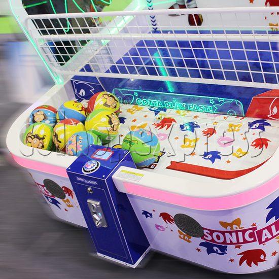 Sharpshooter Gemini Basketball Ticket Redemption Arcade Machine - playfield 2
