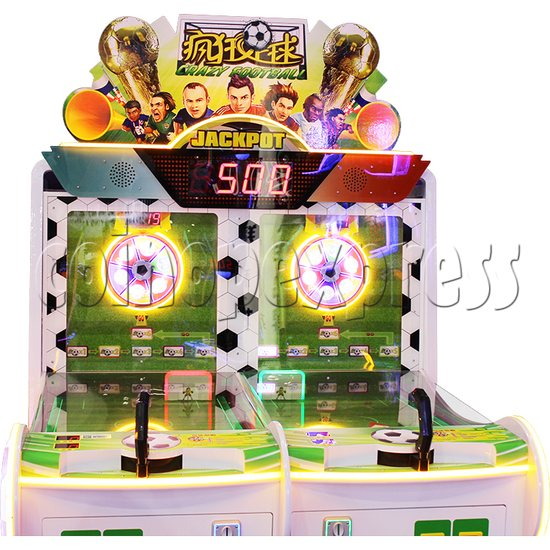 Crazy Football Shooting Redemption Machine Playfield 1