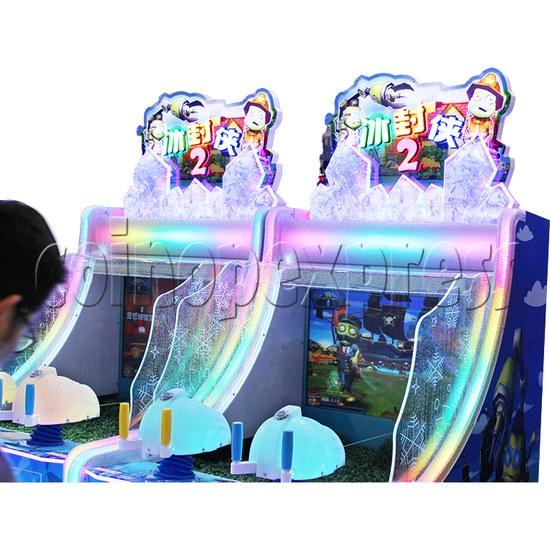 Ice Man II Water Shooter Ticket Redemption Arcade Machine - playfield