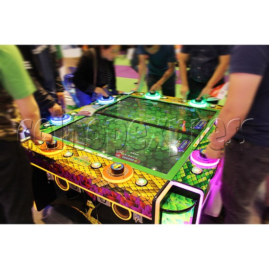 Funky Snake Ticket Redemption Arcade Machine 8 Players - play view