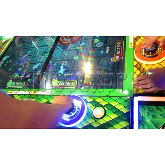 Funky Snake Ticket Redemption Arcade Machine 8 Players - control panel