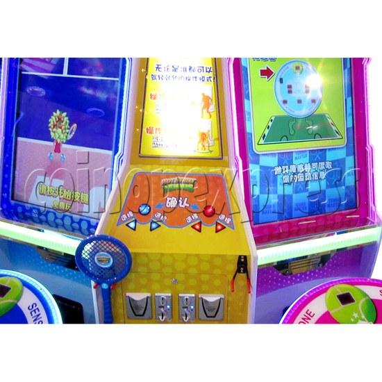 Hot Strike Tennis Ticket Redemption Arcade Machine 2 Players - control panel