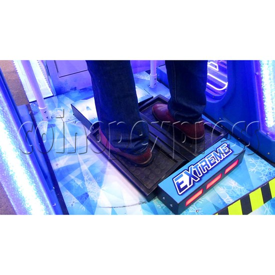 Extreme Slope Ticket Redemption Arcade Machine - snow board