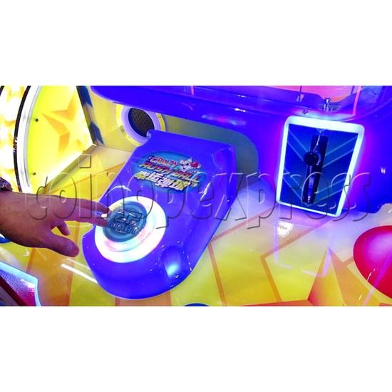 Crazy Rush Ball Ticket Redemption Arcade Machine - control panel