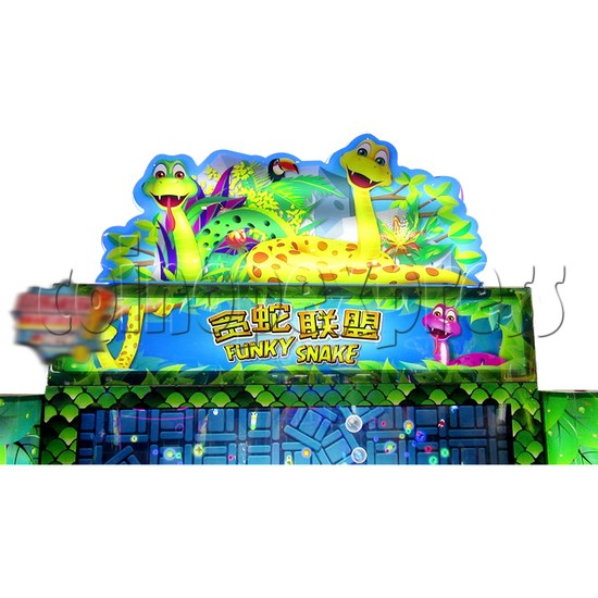 Funky Snake Ticket Redemption Arcade Machine 4 Players - header