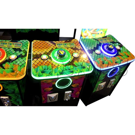 Funky Snake Ticket Redemption Arcade Machine 4 Players - control panel