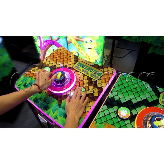Funky Snake Ticket Redemption Arcade Machine 4 Players - play view