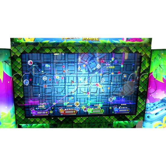 Funky Snake Ticket Redemption Arcade Machine 4 Players - screen display 1