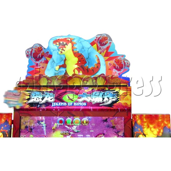 Legend Of Dinosaurs 2 Ticket Redemption Arcade Machine - header