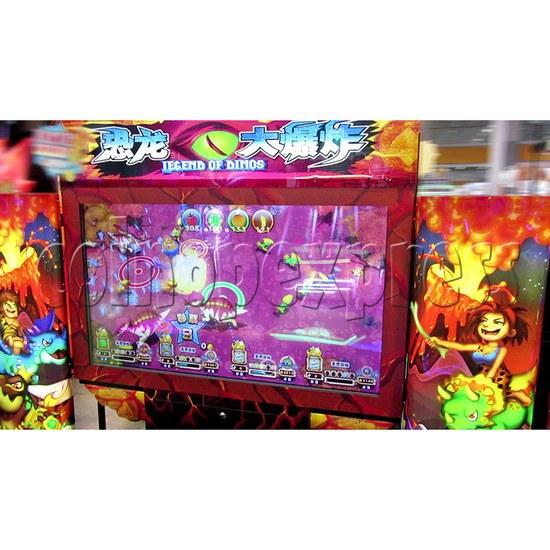 Legend Of Dinosaurs 2 Ticket Redemption Arcade Machine - screen display 1