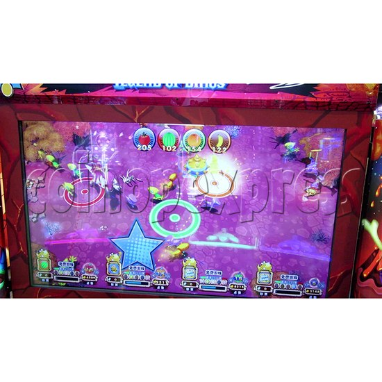 Legend Of Dinosaurs 2 Ticket Redemption Arcade Machine - screen display 2