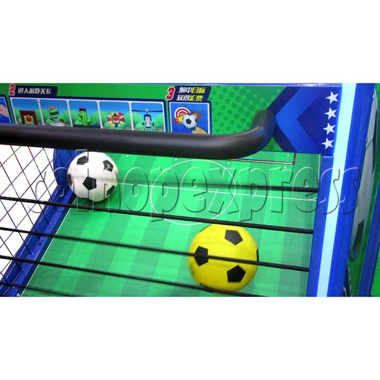 Soccer Party Football Shooting Redemption Machine - playfield