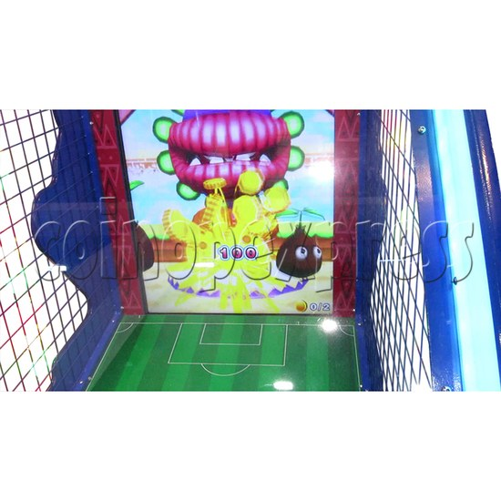 Soccer Party Football Shooting Redemption Machine - screen display 2