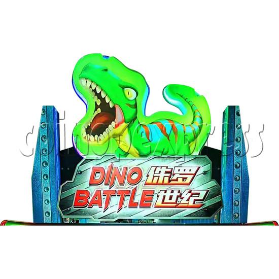 Dino Battle 2 Ball Shooter Ticket Redemption Arcade Machine - header