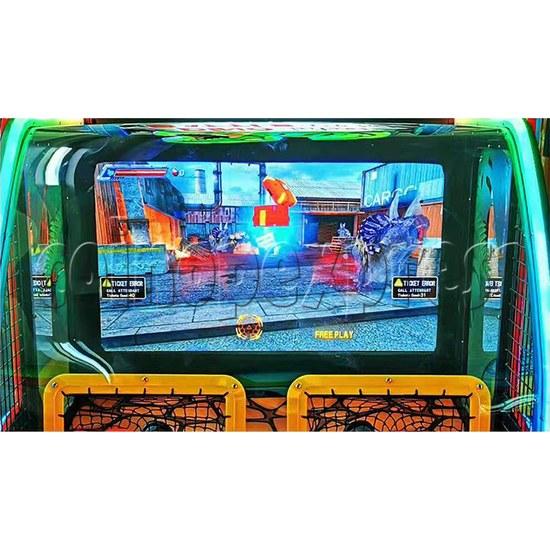 Dino Battle 2 Ball Shooter Ticket Redemption Arcade Machine - screen display 1