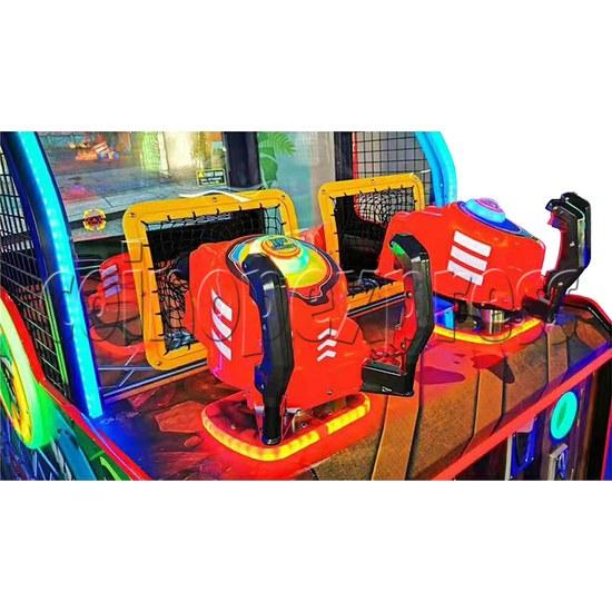 Dino Battle 2 Ball Shooter Ticket Redemption Arcade Machine - control panel 1