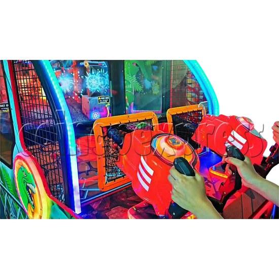 Dino Battle 2 Ball Shooter Ticket Redemption Arcade Machine - control panel 2