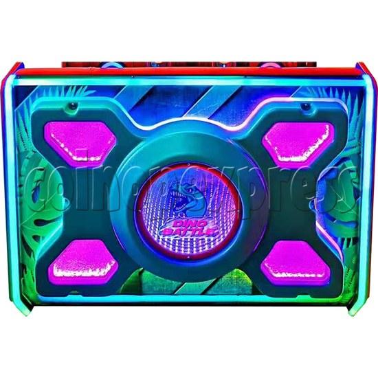 Dino Battle 2 Ball Shooter Ticket Redemption Arcade Machine - seat