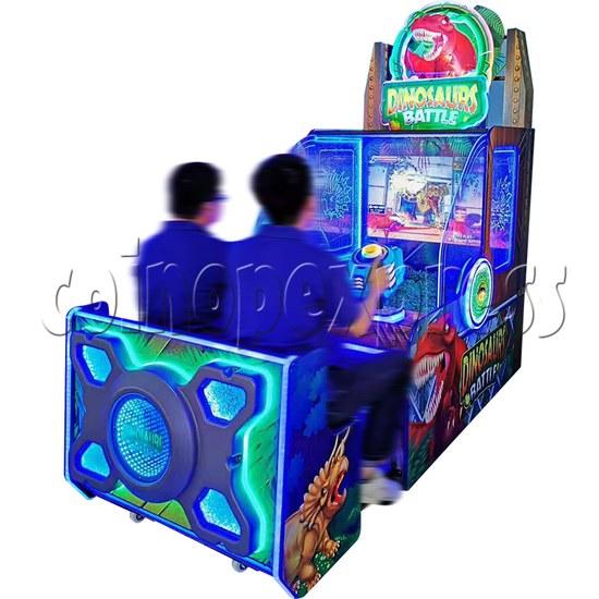 Dinosaurs Battle Water Shooter Ticket Redemption Arcade Machine - play view 1