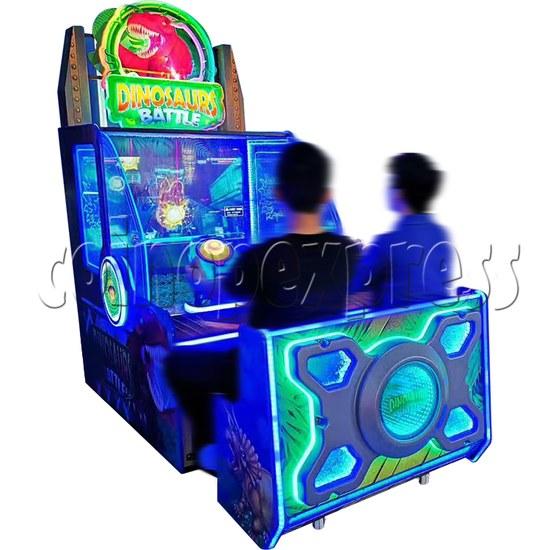 Dinosaurs Battle Water Shooter Ticket Redemption Arcade Machine - play view 2