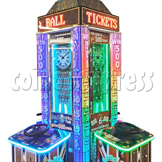 Can You Beat Ben 4 Player Ticket Redemption Machine - playfield