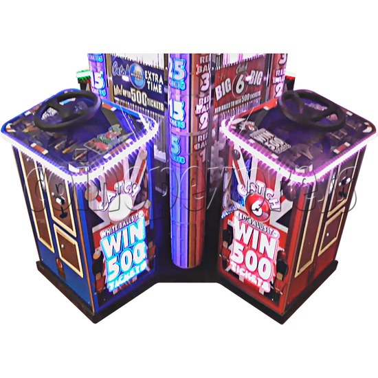 Can You Beat Ben 4 Player Ticket Redemption Machine - console