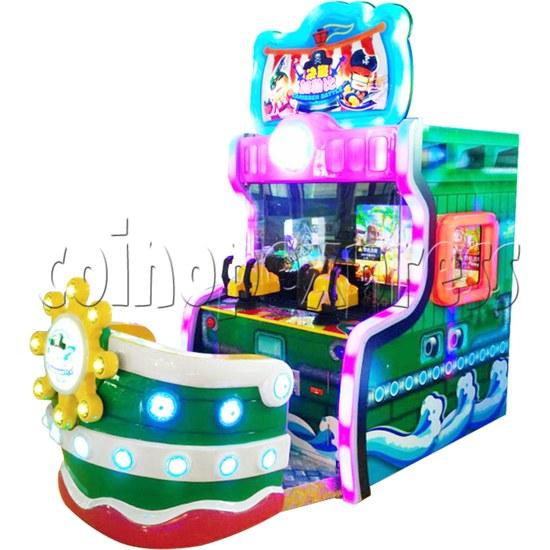 Caribbean Battle Ball Shooter Redemption Arcade Machine - right view