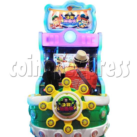 Caribbean Battle Ball Shooter Redemption Arcade Machine - play view