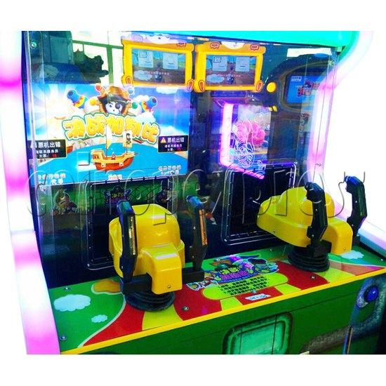 Caribbean Battle Ball Shooter Redemption Arcade Machine - control panel