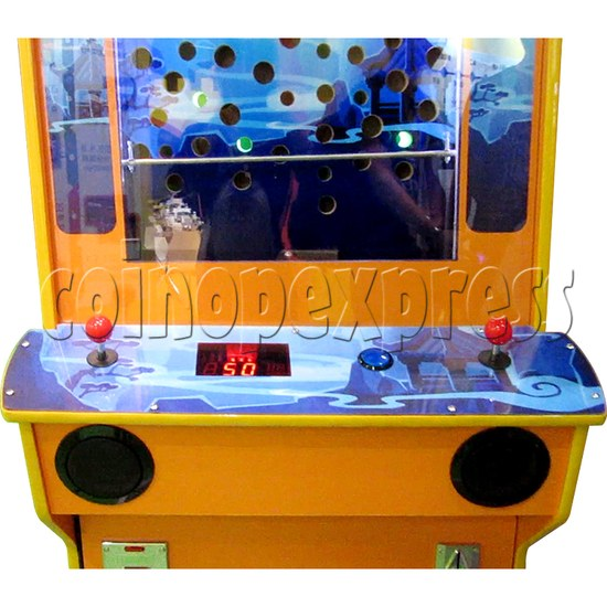 The Monkey King Mechanical Action Ticket Redemption Arcade Machine - control panel