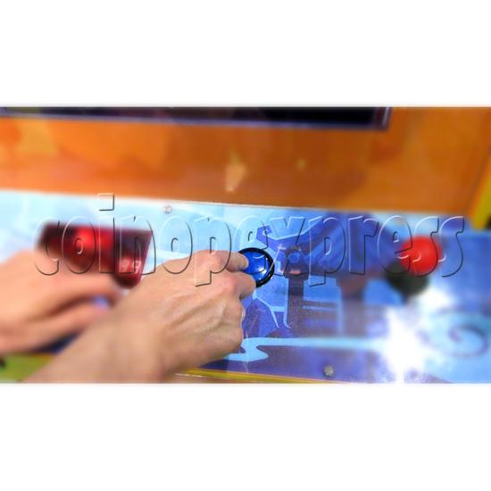 The Monkey King Mechanical Action Ticket Redemption Arcade Machine - start button
