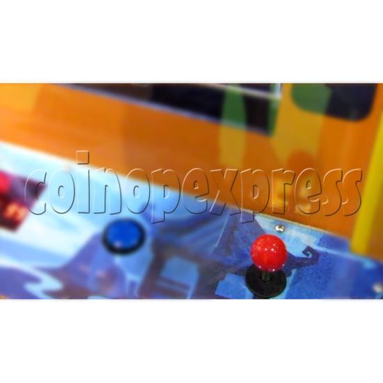 The Monkey King Mechanical Action Ticket Redemption Arcade Machine - joystick